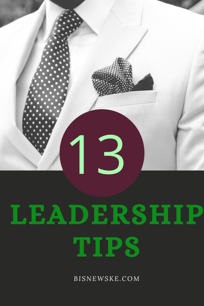 Leadership Tips