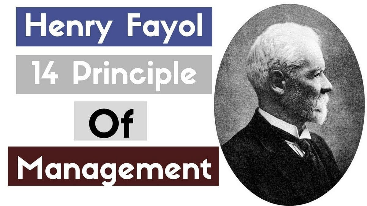 Henri Fayol 14 Principles of Management with Examples